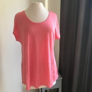 Eileen Fisher simple T-shirt.   Linen.   Size PM